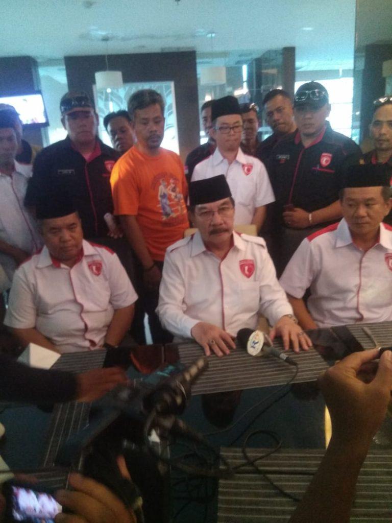Ribuan Masyarakat Hadiri Pelantikan DPC Garda Jokowi Riau