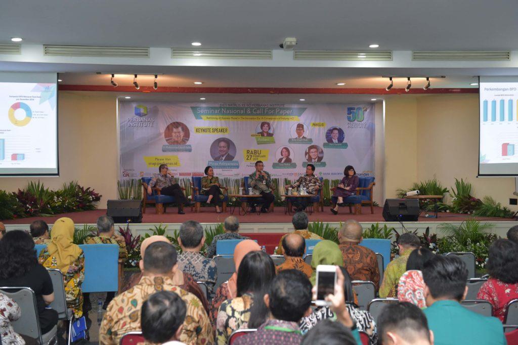 Dihadiri Oleh Wapres, Dirut Bank Riau Kepri Jadi Narasumber Seminar Perbanas