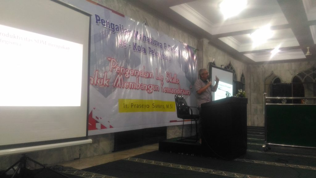 700 Mahasiswa dan Pelajar se-Kota Pekanbaru, Ikuti Pengajian Akbar yang di Taja DPW LDII Riau