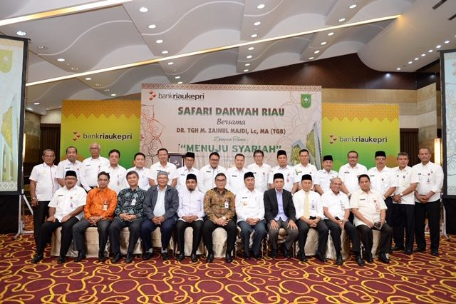 Pemprov Riau Canangkan Konvergensi Bank Riau Kepri Ke Syariah