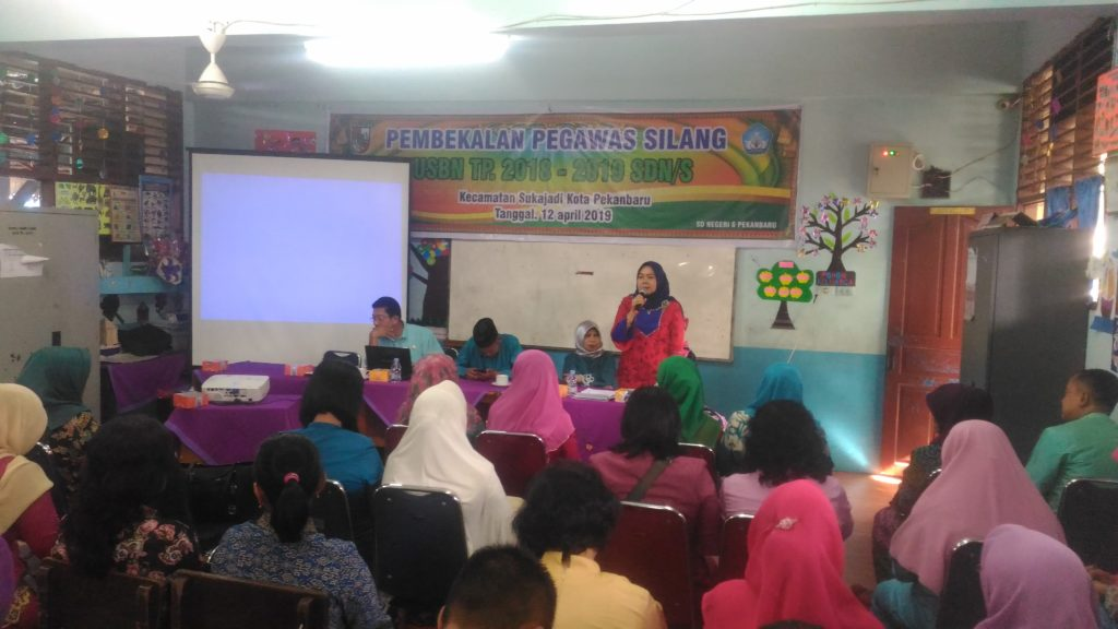 Eliya,SPd.Ketua K3S Kecamatan Sukajadi : USBN 2019 Program Pemerintah Pusat, Harus Kita Dukung dan Sukseskan