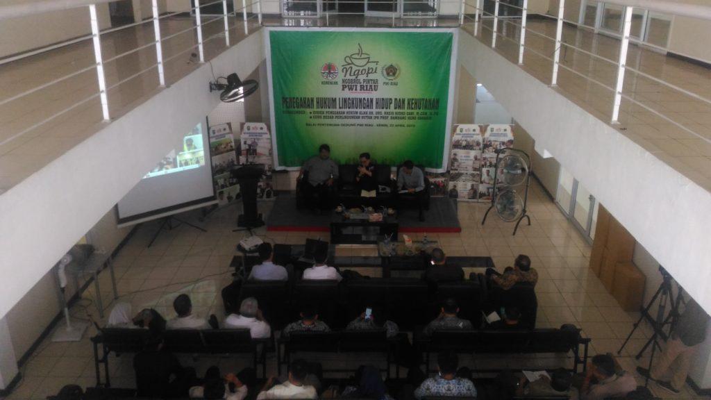 DR.Drs.Rasio Ridho Sani.M.Com,MPM : Pemerintah Sangat Konsen Tangani Karhutla dan Lingkungan