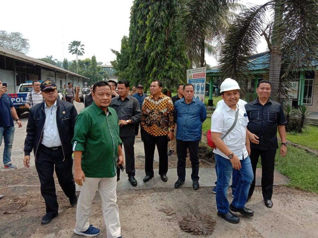 DPRD Riau Sidak PT SLS Dan PT ADEI di Kabupaten Pelalawan