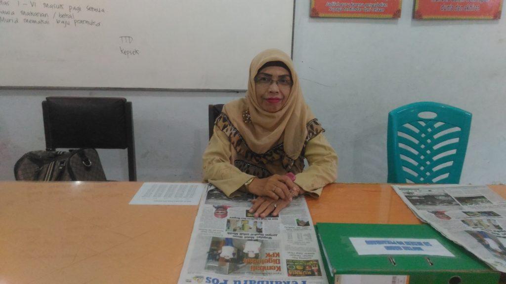 Nurhasanah, S.Pd.I : Kami Berharap Nilai Siswa SDN 89 Dapat yang Terbaik, dan Bagi Siswa Kelas VI Dapat Lulus 100 Persen