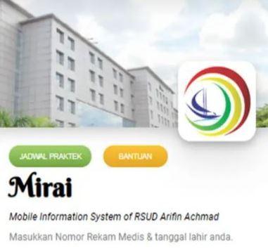 RSUD Arifin Achmad Sediakan Layanan Pendaftaran Online