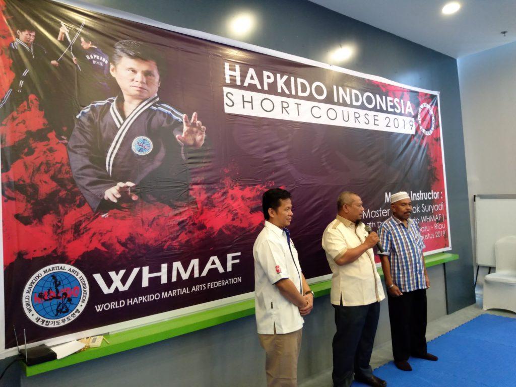 Olahraga Hapkido Indonesia Hadir di Kota Pekanbaru, Buka Peluang Bagi Leader dan Atlit Pemula untuk Berprestasi