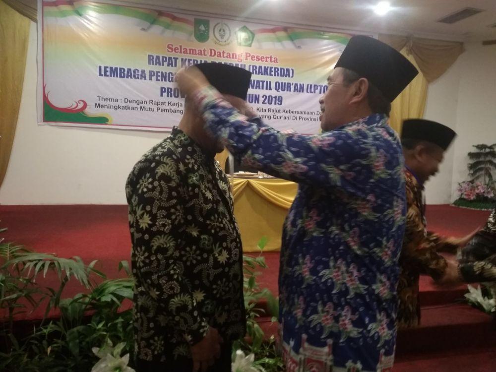 Gubri Buka Rakerda LPTQ Riau 2019