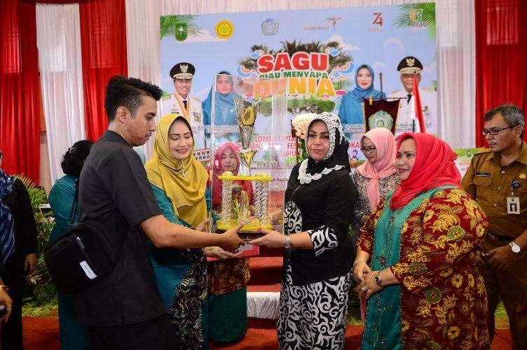 PKK Kepulauan Meranti Wakili Riau di Ajang Lomba Cipta Menu B2SA Tingkat Nasional