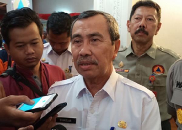 Gubri Intruksikan Bupati dan Walikota Inventaris Lahan yang Terbakar