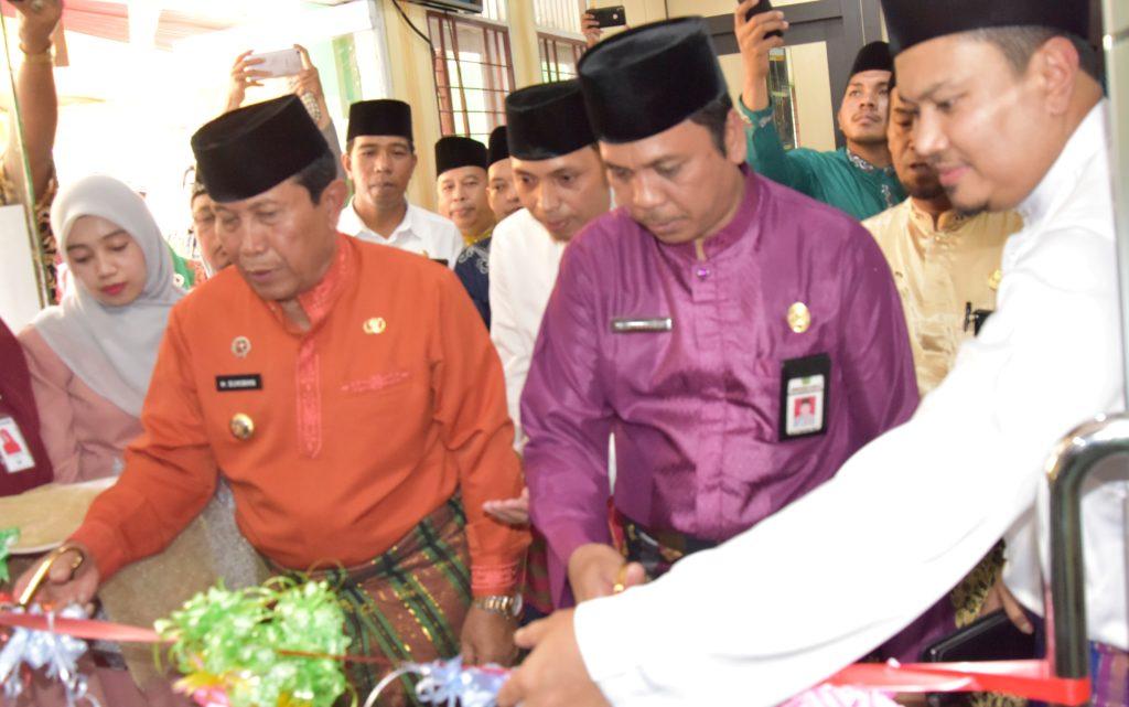 Kini Masyarakat Rohul Bisa Melakukan Setoran Haji di Kantor Kas Bank Riau Kepri Syariah.