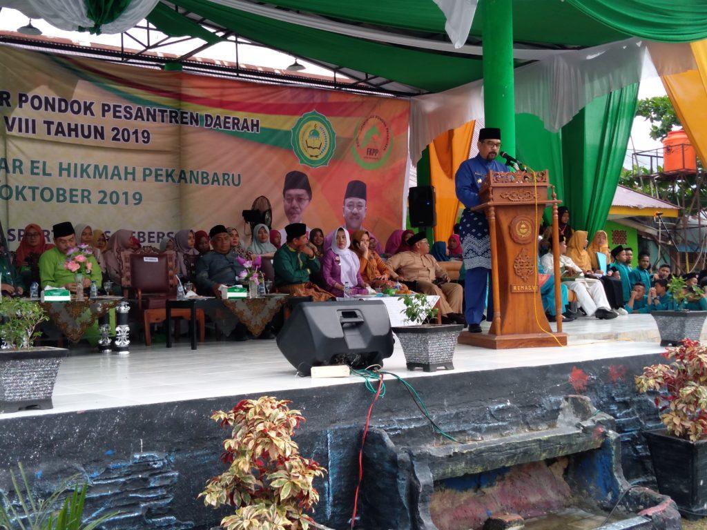 Wagubri H. Edi Natar Nasution Membuka POSPEDA Ke VIII Tahun 2019