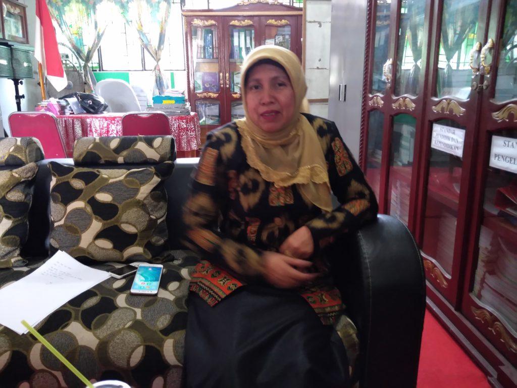 Kepsek Agusnilawati,S.Pd. : Target Kita Adiwiyata Provinsi untuk SMPN 37 Dapat Terwujud dengan Hasil Terbaik