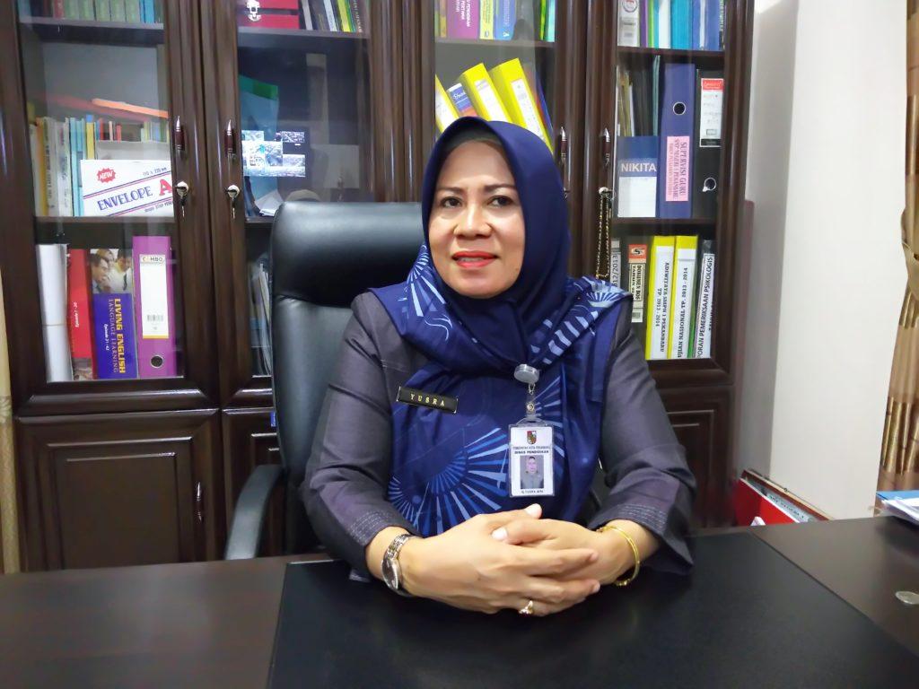 Kepsek Hj. Yusra, M.Pd. : Momen Perayaan Hari Guru Nasional dan HUT PGRI Ke-74, Siswa Berikan Cinderamata untuk Guru SMP Negeri 1 Pekanbaru