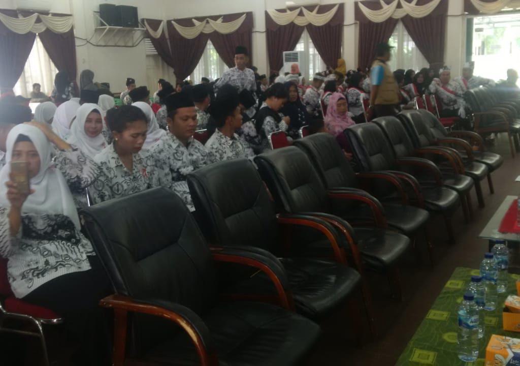 Wabup Rohil Drs.H. Jameluddin Jadi Irup HUT Korpri ke-74 Tahun 2019 Berjalan Aman dan Lancar