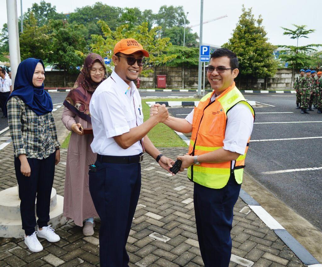 PT. Angkasa Pura II Bandara SSK II Siapkan Posko Angkutan Udara Natura 2019/2020 dan Kesehatan