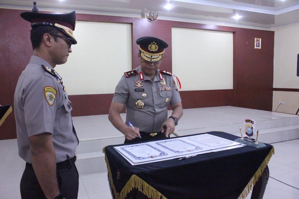 Kapolda Riau Berharap Pejabat Baru Bisa Bekerja dengan Baik dan Berkualitas