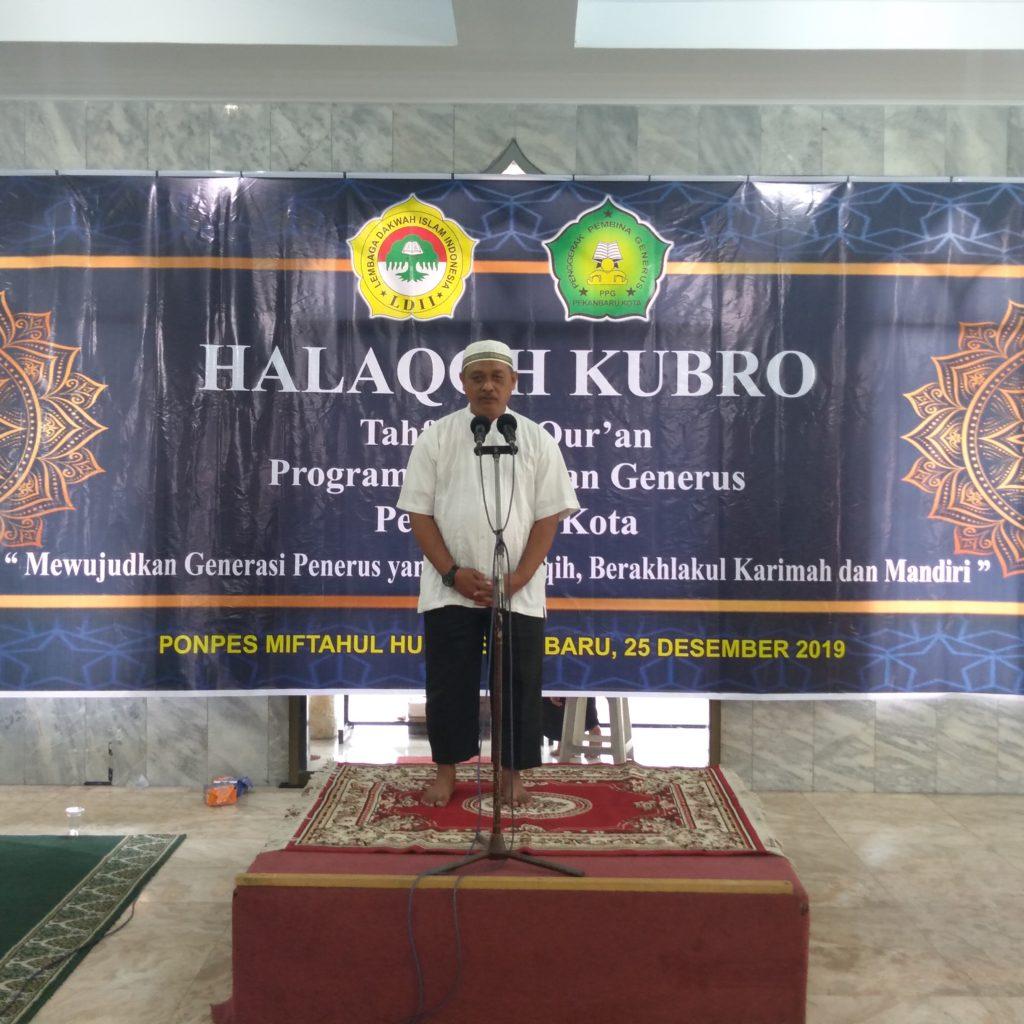 Luar Biasa, PPG Zona I DPW LDII Riau Taja Halaqoh Kubro Tahun 2019